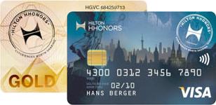 Hilton HHonors Gold Kreditkarte
