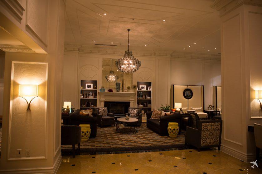 Hilton New Orleans St. Charles Avenue Lobby