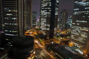 Hilton Tokyo Ausblick