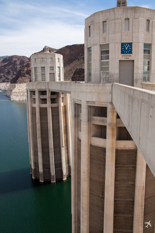 Wassereinlauftürme - Hoover Dam, USA