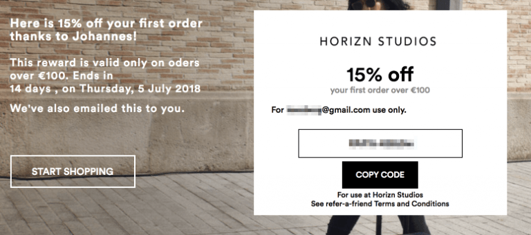 Horizon Studios Gutschein