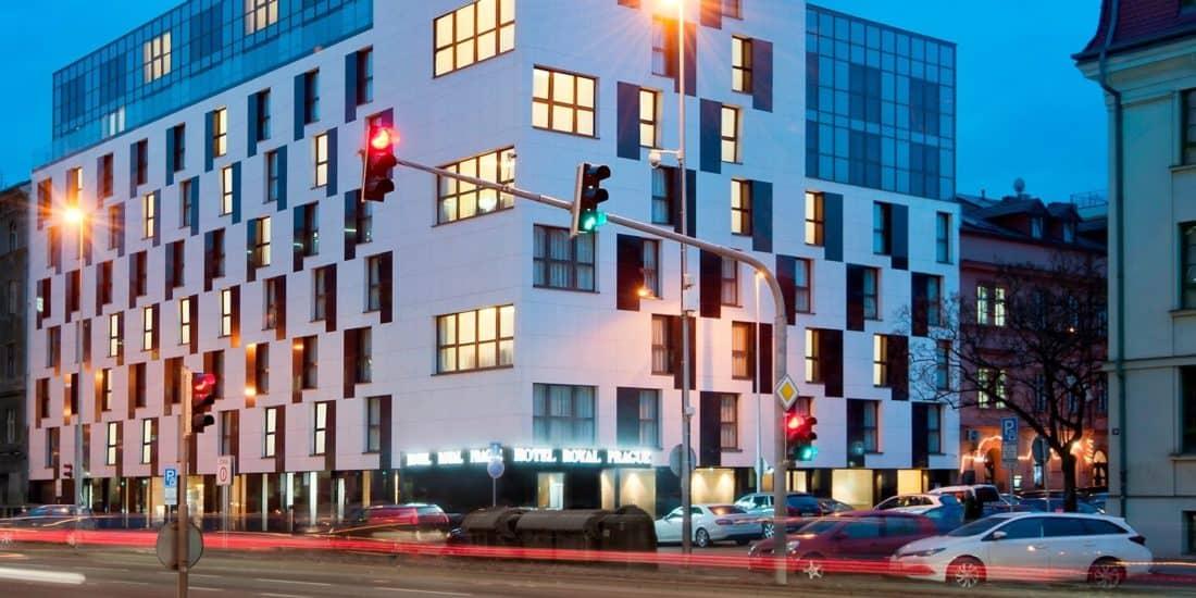 HotelRoyalPrague Aussenansicht