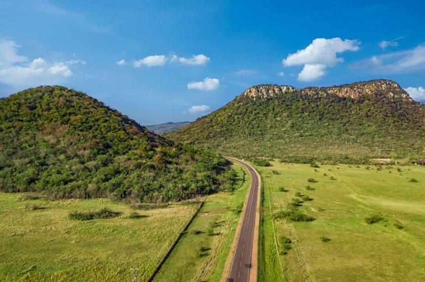 Hügel Paraguay Cerro Jhú