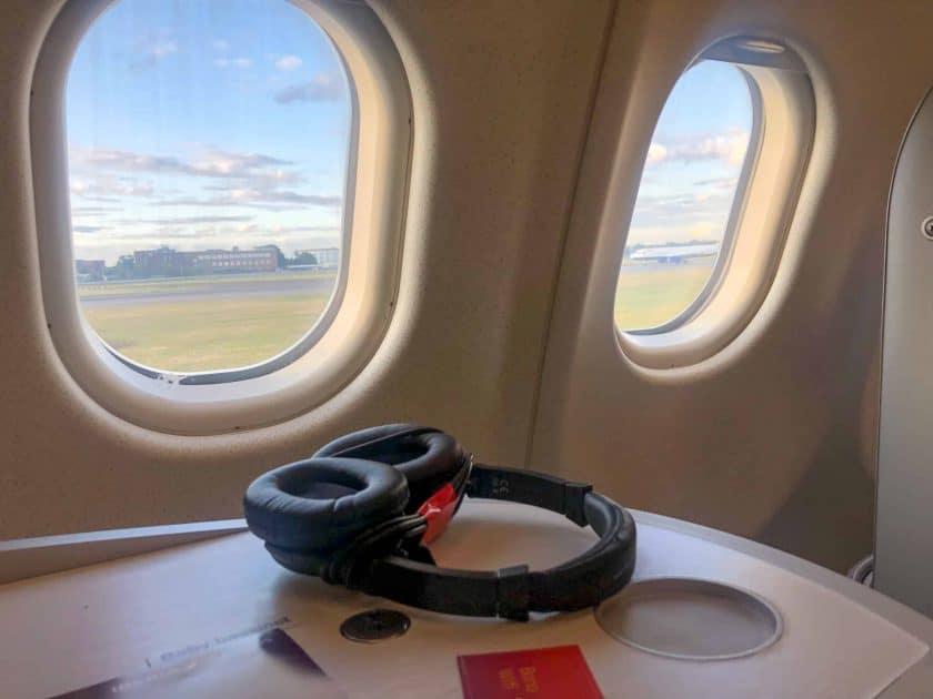 Iberia Business Class Lookout