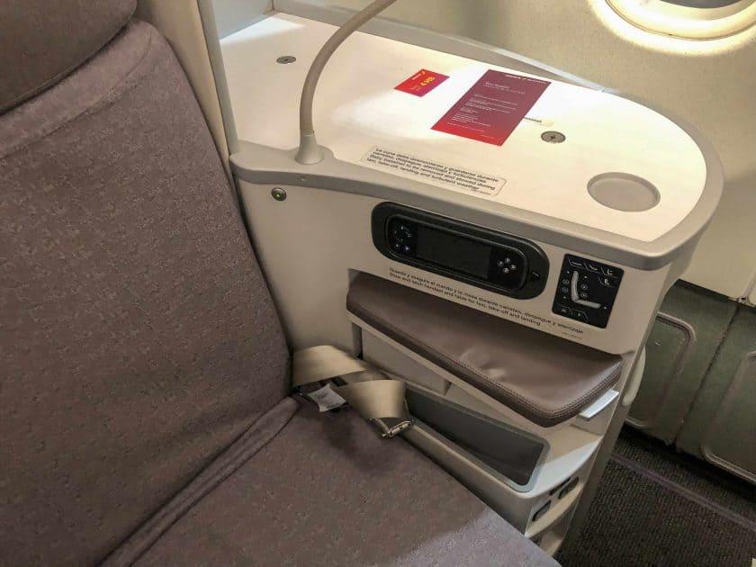 Iberia Business Class Seat 2