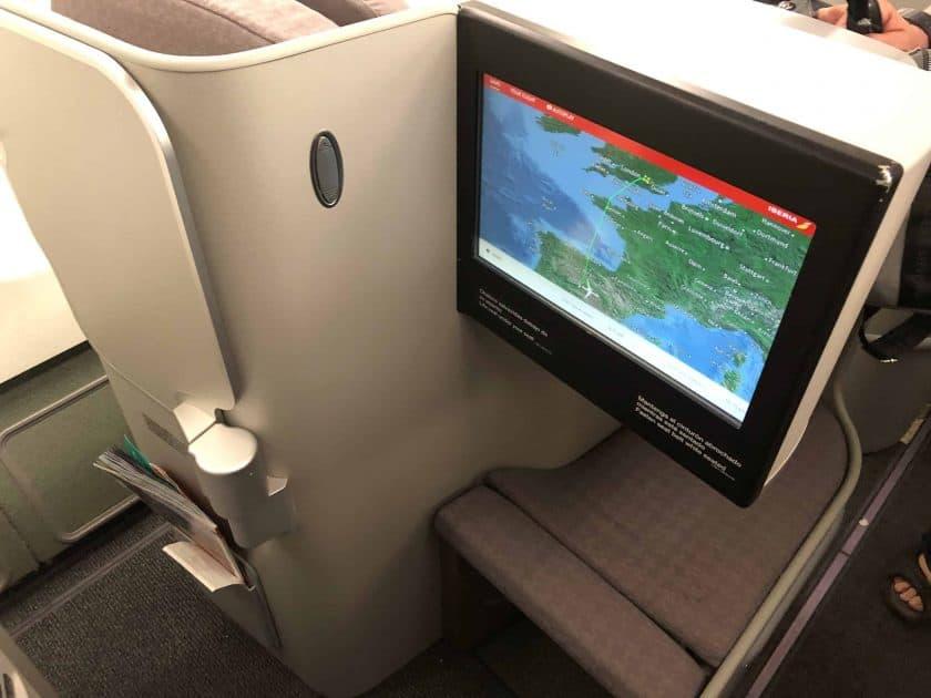 Iberia Business Class Seat 4