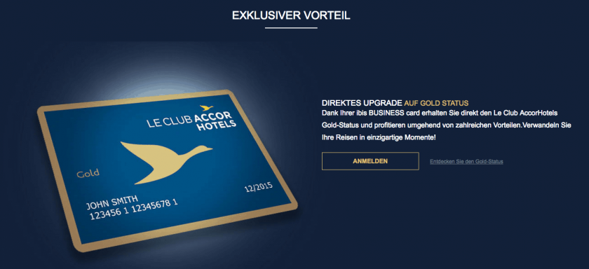 Ibis Budget Card Le Club Gold
