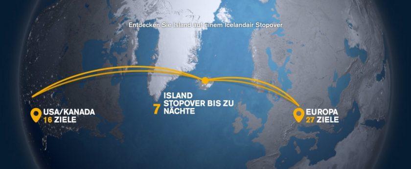 Icelandair Stopover Island