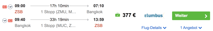 Idealo ZSB BKK Eurowings
