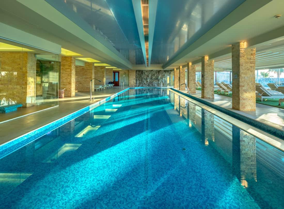 Ikaros Beach Luxury Resort & Spa Indoor Pool
