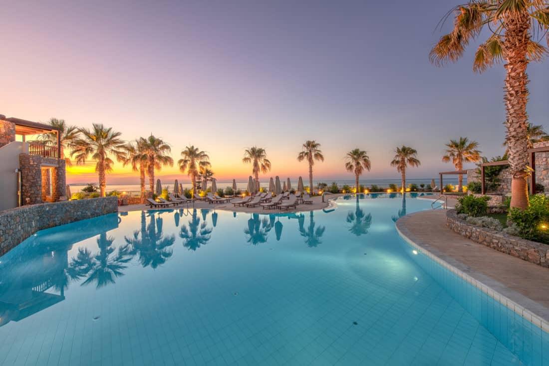Ikaros Beach Luxury Resort Spa Pool 1
