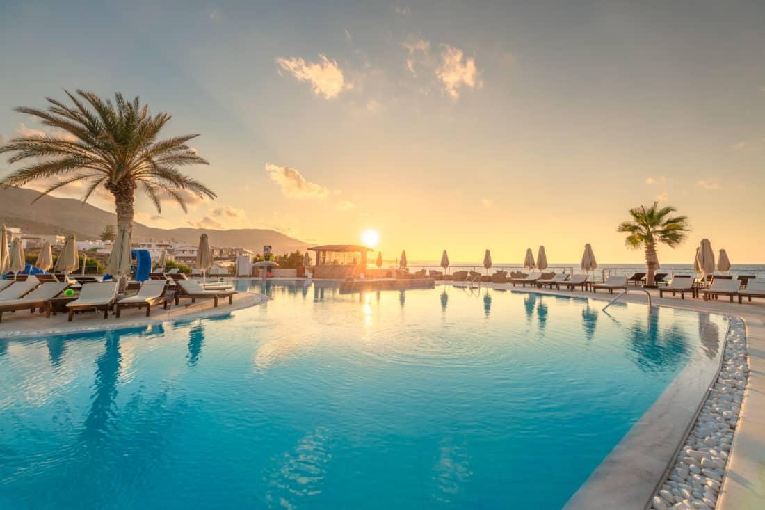 Ikaros Beach Luxury Resort Spa Pool 2