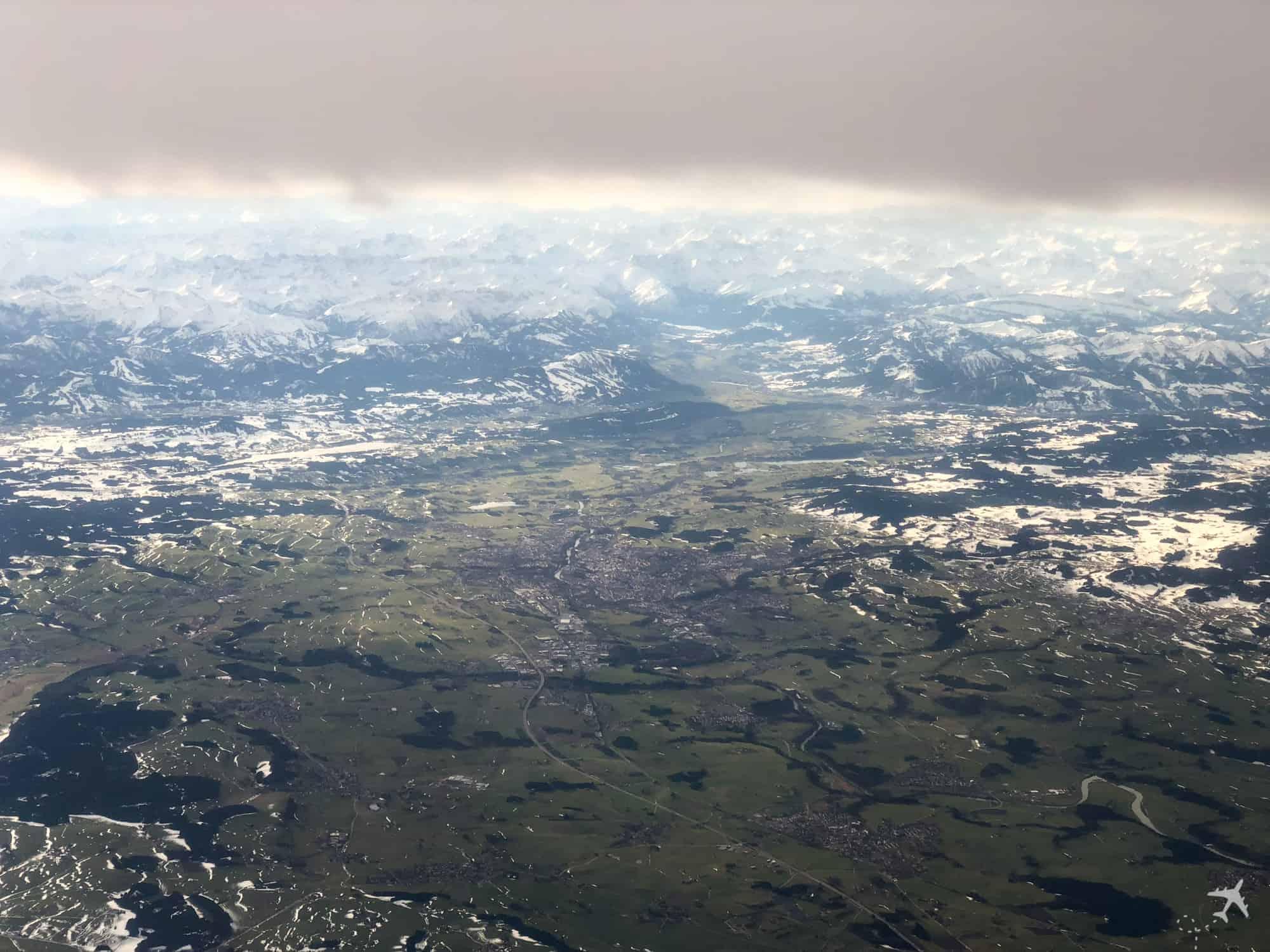 InFlight Alpen