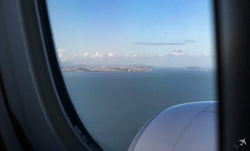 InFlight Swiss Boeing 777 San Francisco