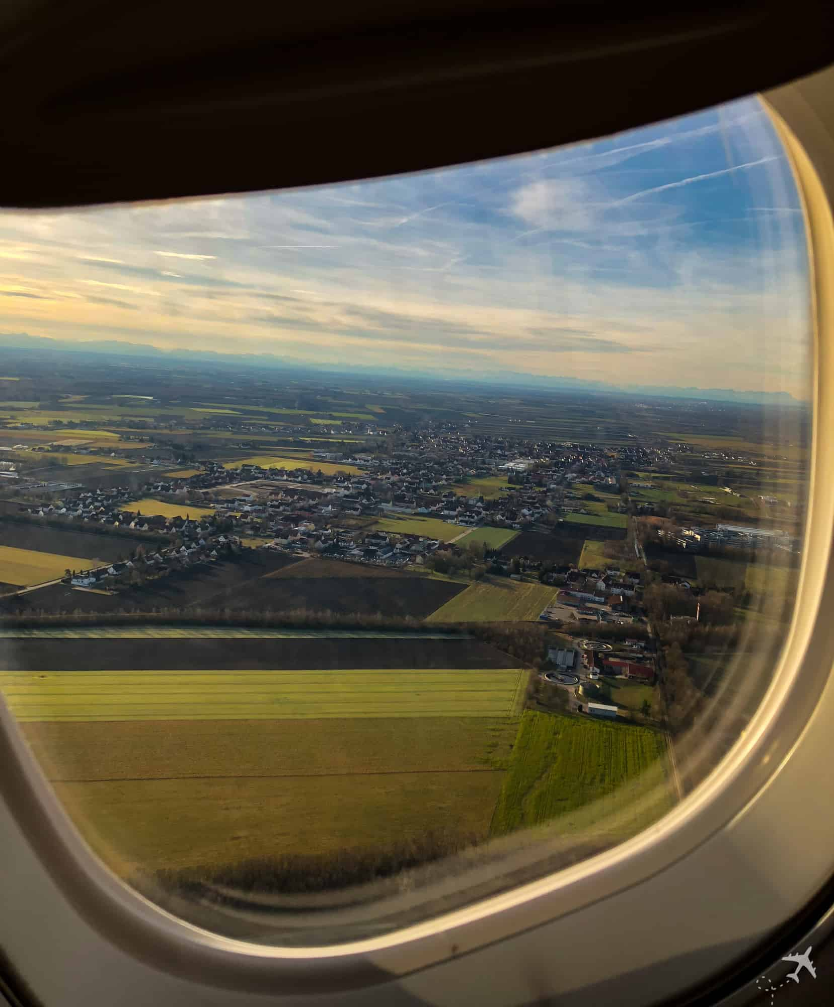 InFlight Swiss Embrear 175 Start Muenchen