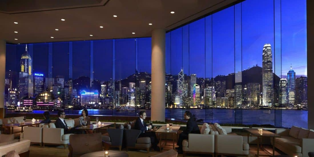 InterContinental Hong Kong Lounge