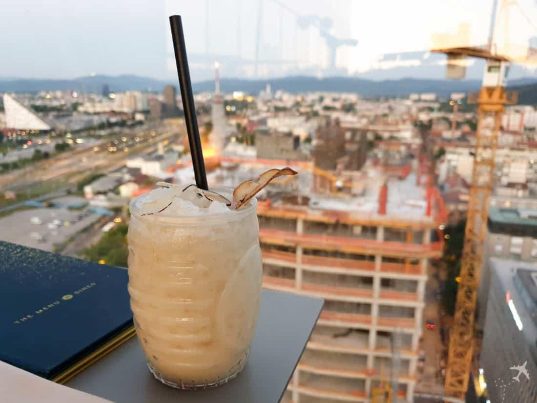 Intercontinental Ljubljana Cocktail