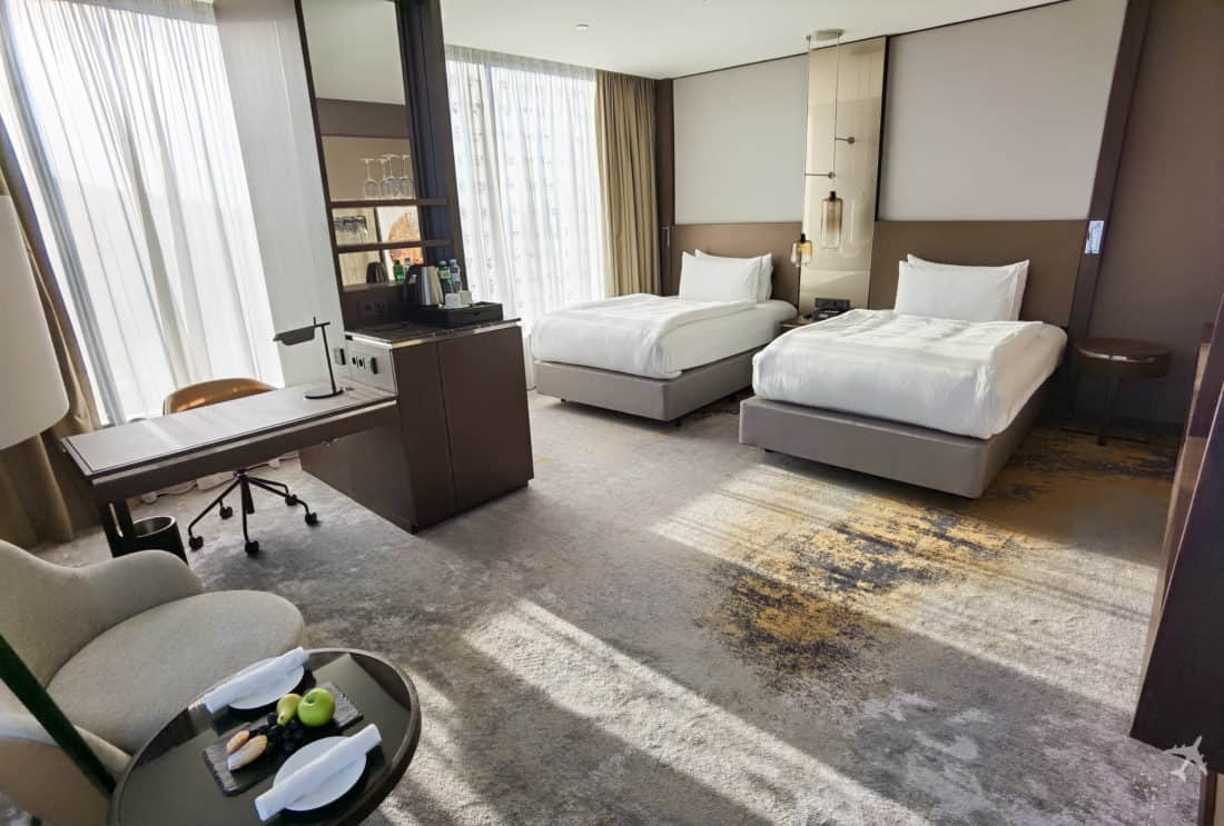 Intercontinental Ljubljana Deluxe Room Twin 1