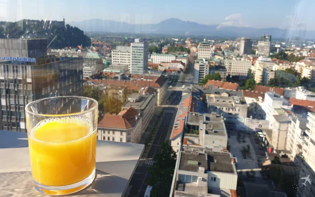 Intercontinental Ljubljana Orangensaft