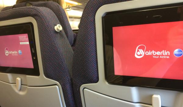 Air Berlin Kabine