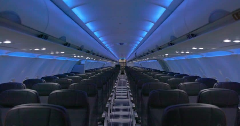 JetBlue A320 Cabin