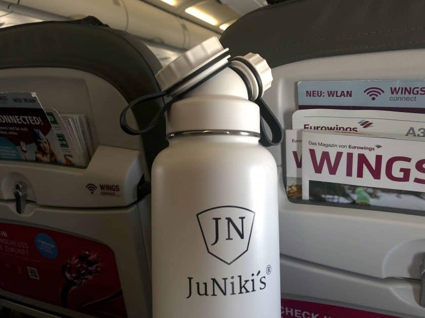 JuNikis Trinkflasche Flugzeug