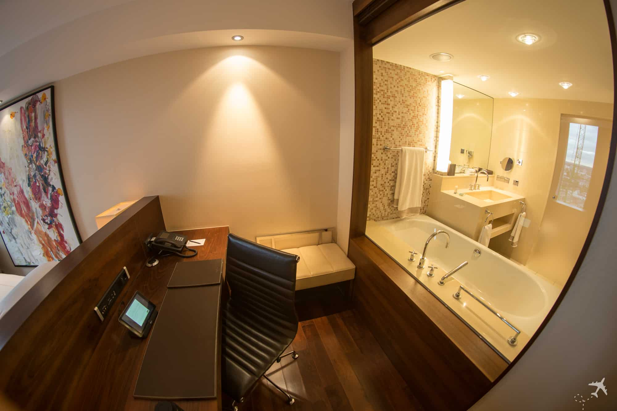 Jumeirah Hotel Frankfurt Arbeitsbereich