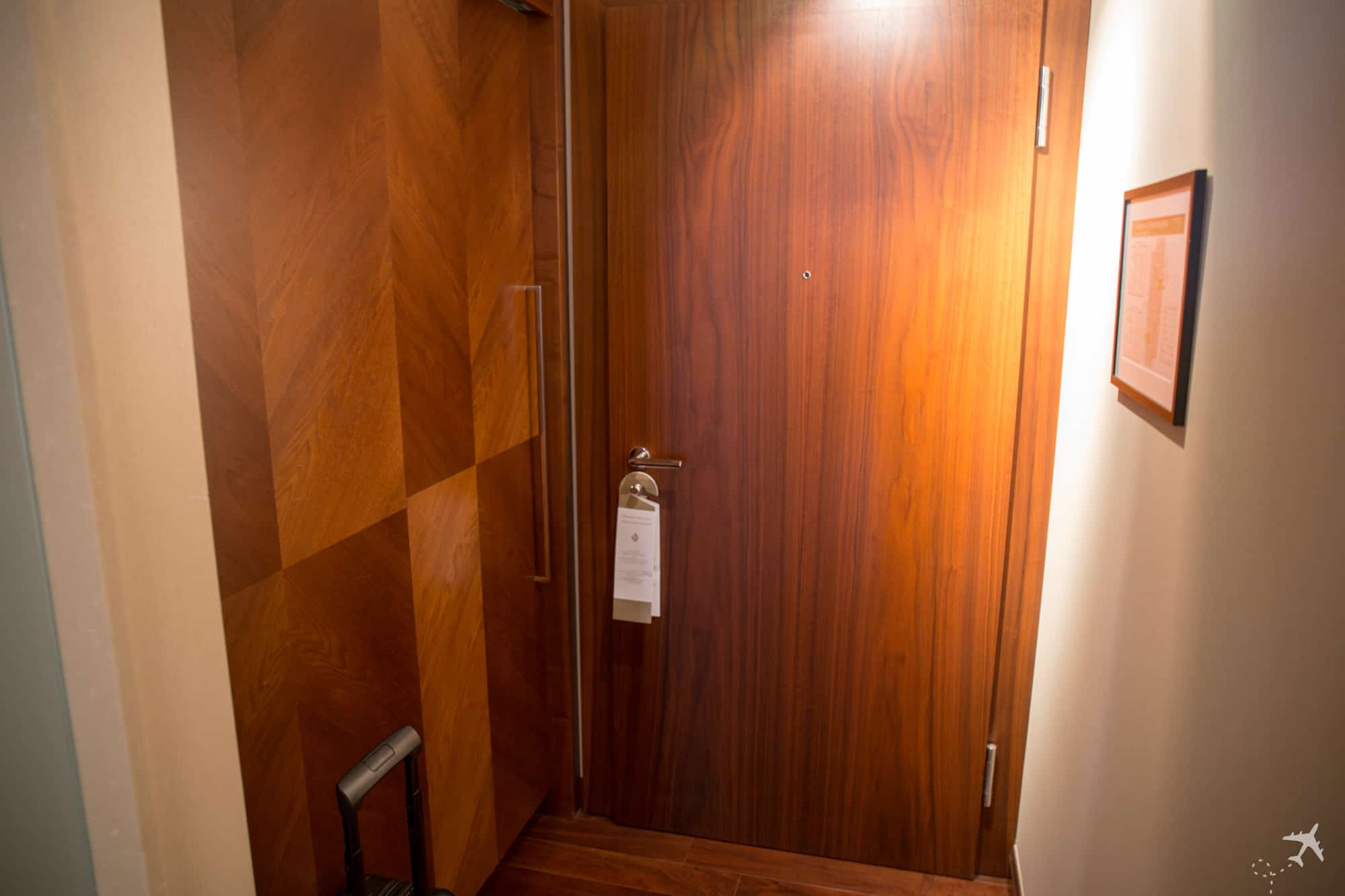 Jumeirah Hotel Frankfurt Eingang
