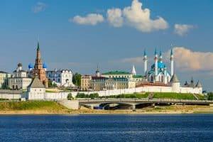Kazan Kremlin in Kasan, Russland