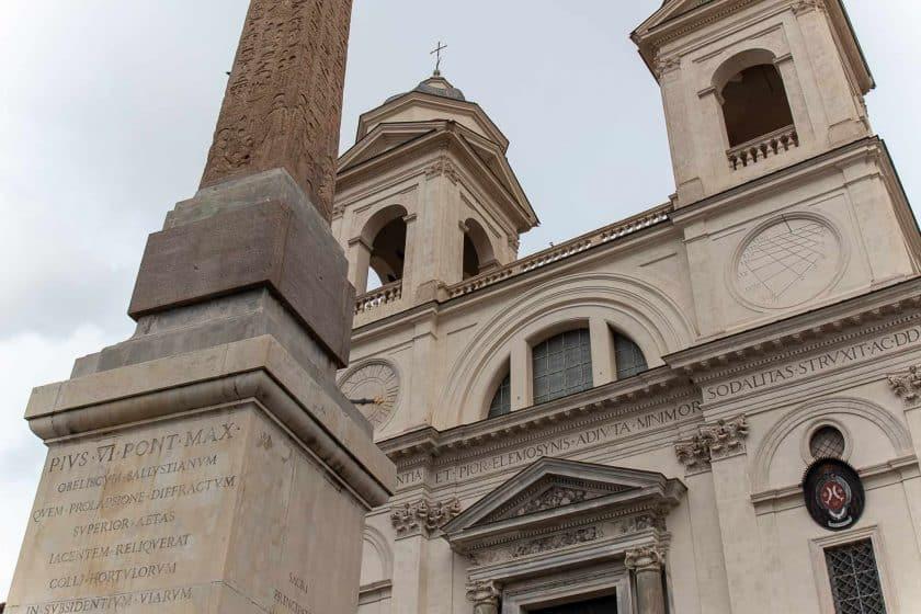 Kirche Trinita dei Monti, Rom, Italien