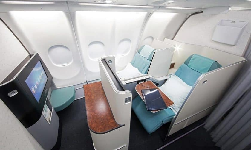 Korean Air Business Class