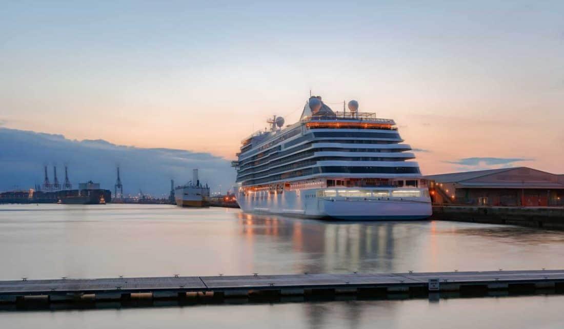 Kreuzfahrtterminal von Southampton, England