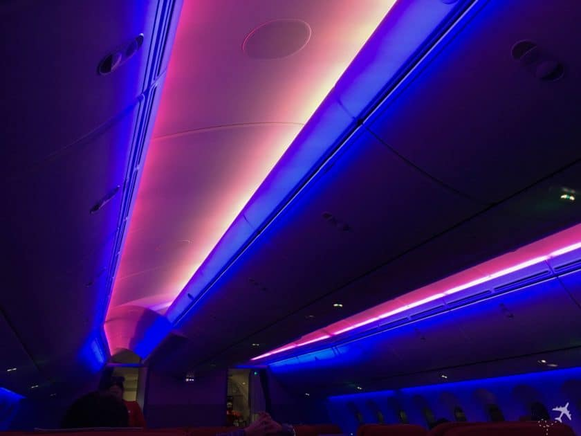LATAM Boeing 787 Business Class Lightning