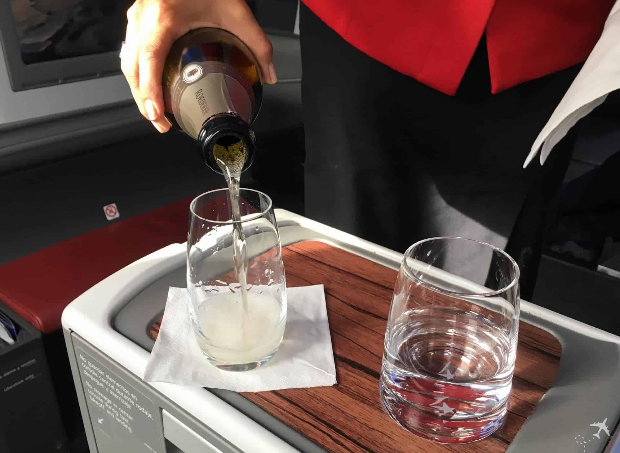 LATAM Boeing 787 Business Class Refill