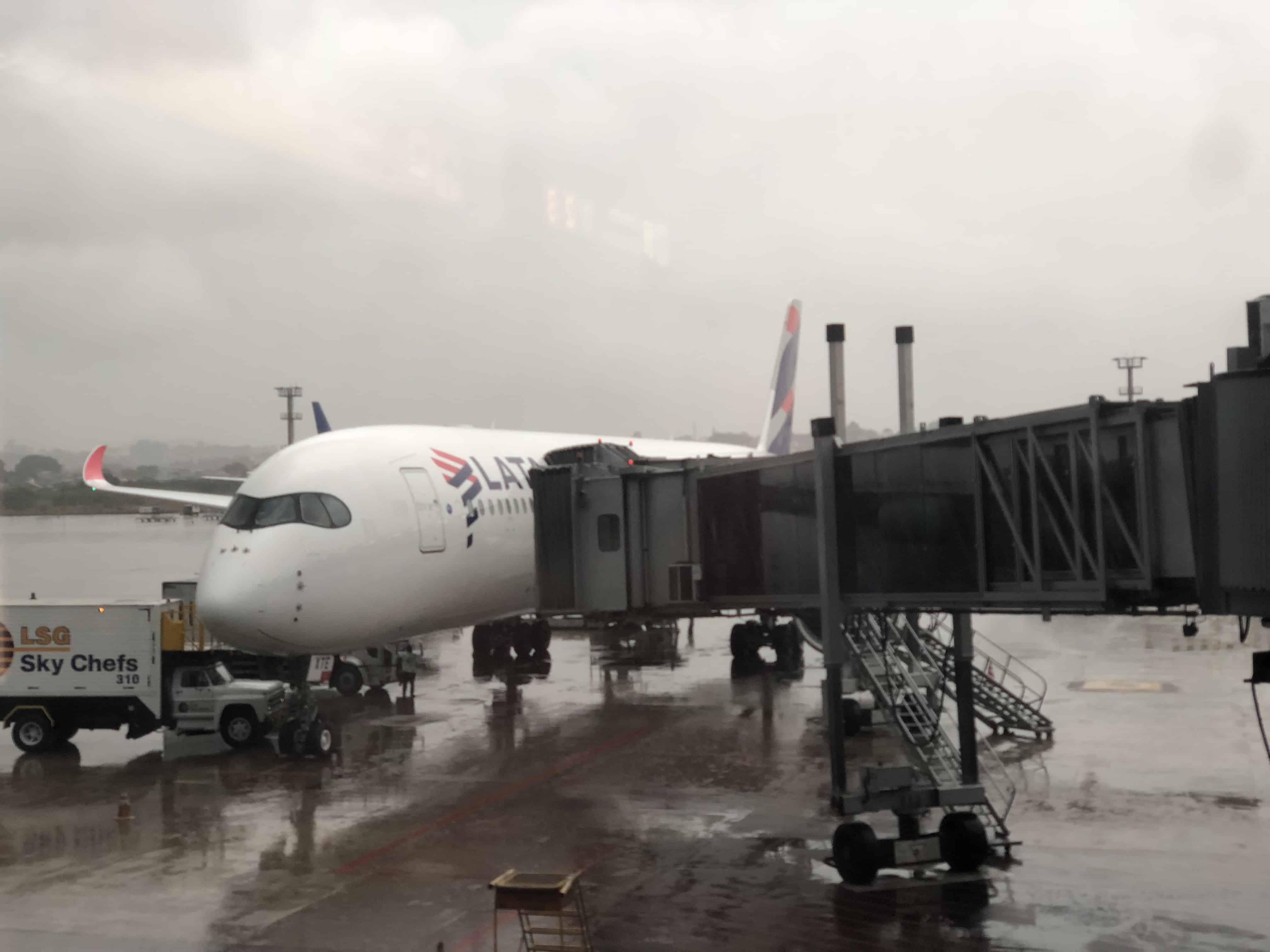 Ein Airbus A350 der LATAM.