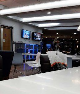 Lounge in London Heathrow