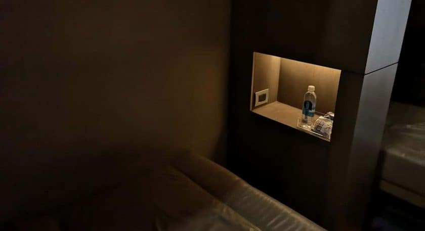 LATAM Lounge SCL Ruhebereich Amenities