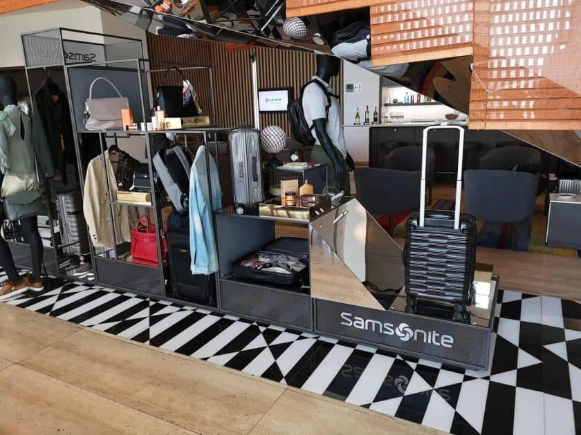 LATAM Lounge SCL Samsonite