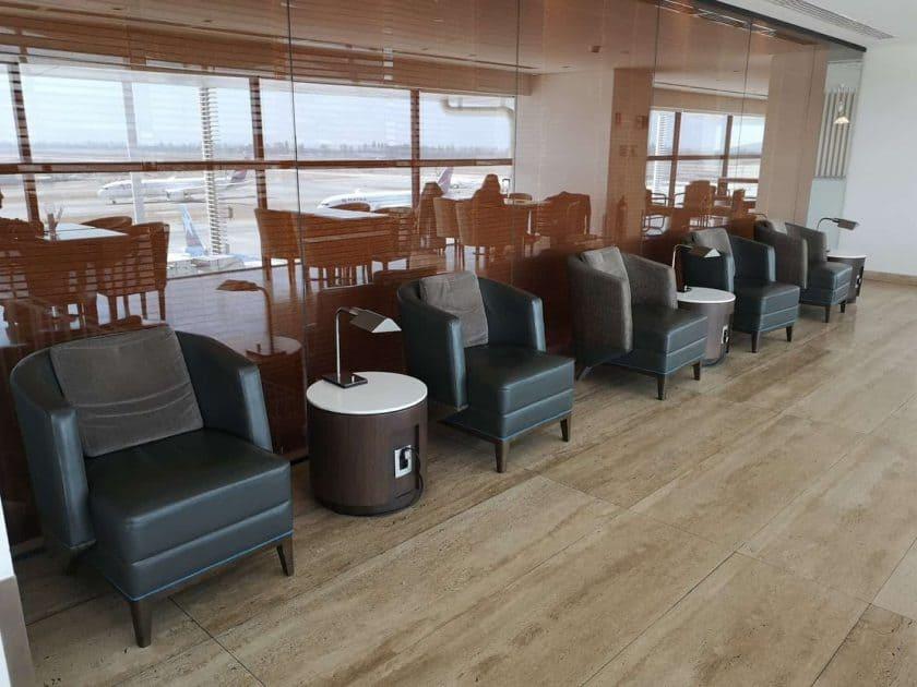 LATAM Lounge SCL Sessel