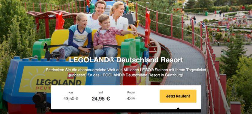 Legoland gutscheine günzburg