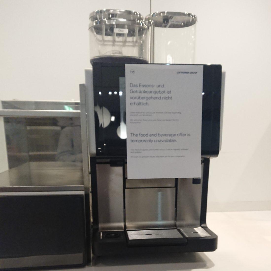 LH Lounge Corona Kaffeemaschine