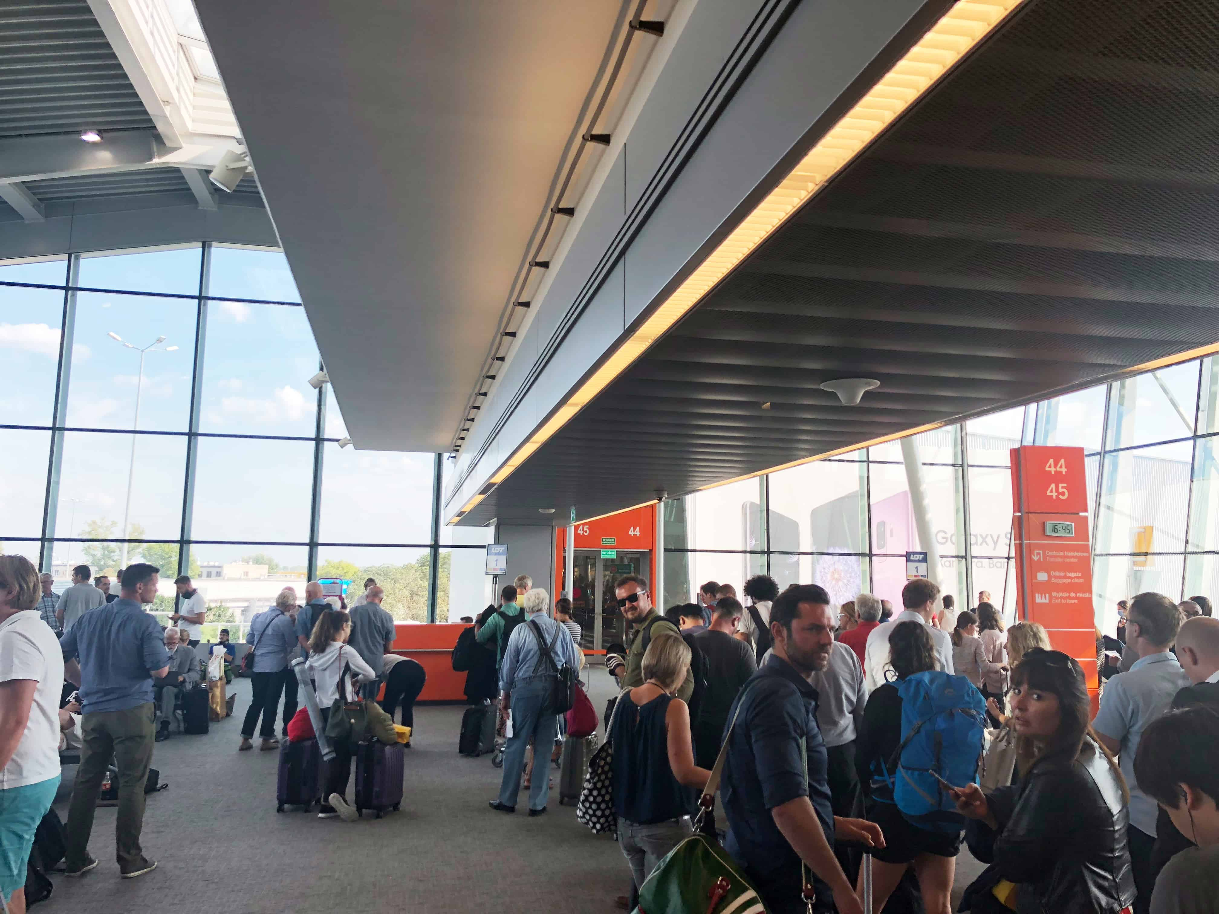 LOT Bewertung Boarding München