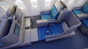 LOT Business Class Boeing 787 Dreamliner