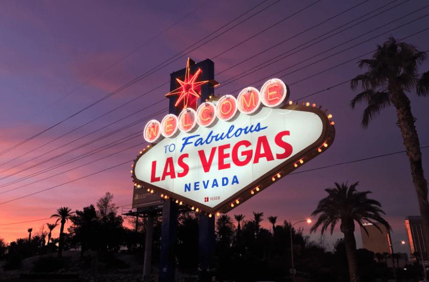 Las Vegas Sonnenuntergang
