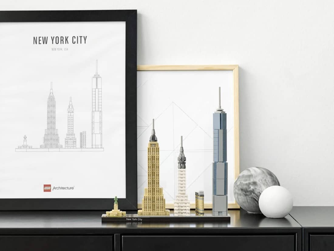 Lego Architecture New York City Skyline