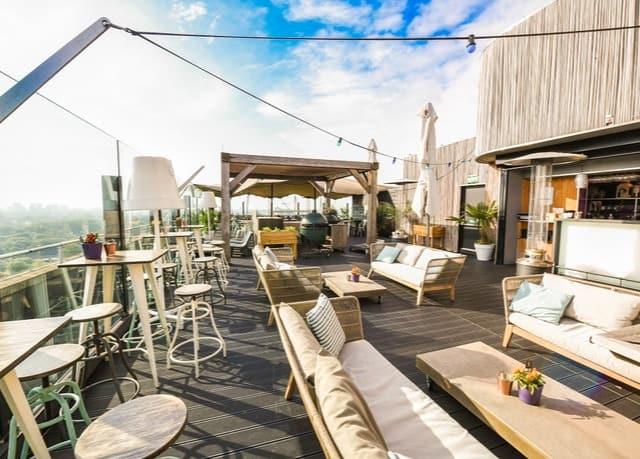 Leonardo Hotel Amsterdam Rembrandtpark Rooftop Bar