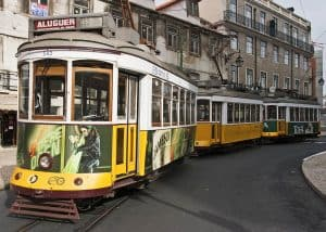 Lissabon Straßenbahnen