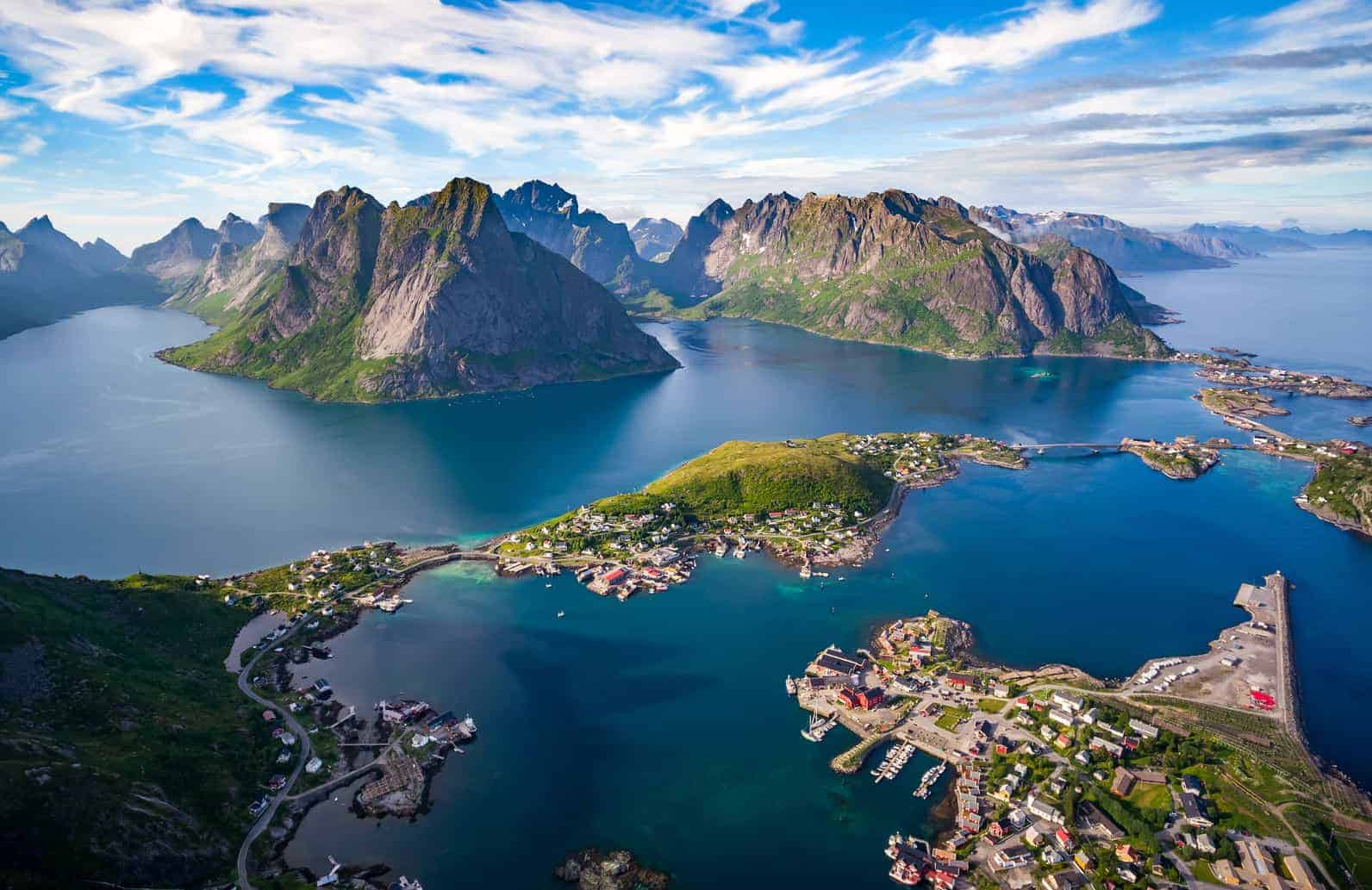 All You Can Fly Mit Wider 248 E Im Sommer Durch Norwegen