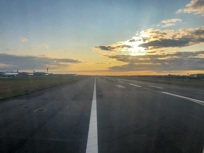 London Heathrow Runway
