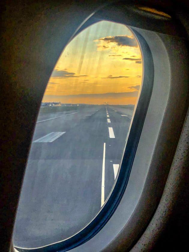 London Heathrow Runway Window